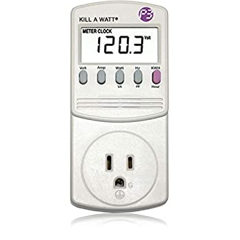 Kill a watt energy meter for house appliances