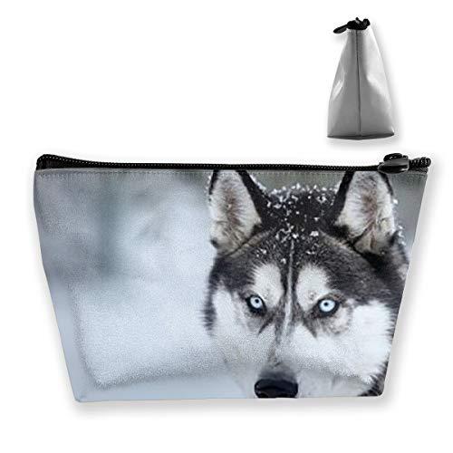 Huskies in Snow Trousse de maquillage portable