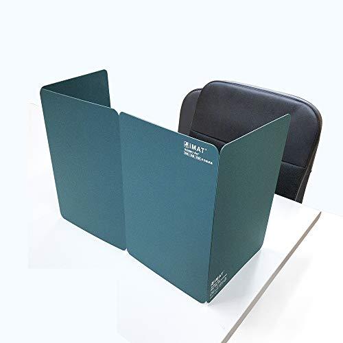 三つ折り式 エコ無毒の抗菌保護隔離多機能カッティングマット ポータブル折りテーブルマット(35x96cm) (ダークグリーン)