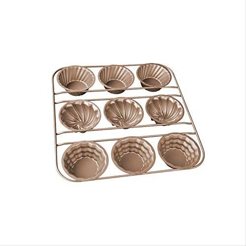 West Point bakvorm, 2 stuks, 9 draden plankdraden, verschillende vormen voor cupcakes, donut-vorm, voor huis West Point bakgereedschap