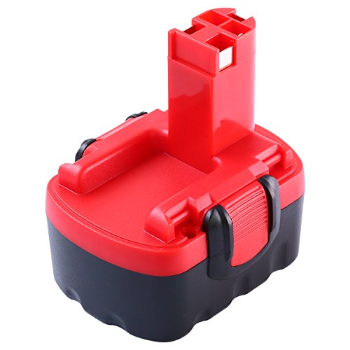 Powayup 14.4V 3.0Ah Batería Reemplazo para Bosch PSR BAT038 BAT040 BAT041 BAT140 BAT159 2607335275 2607335533 2607335465 2607335685 2607335276 2607335711 1661 13614 1440 15614