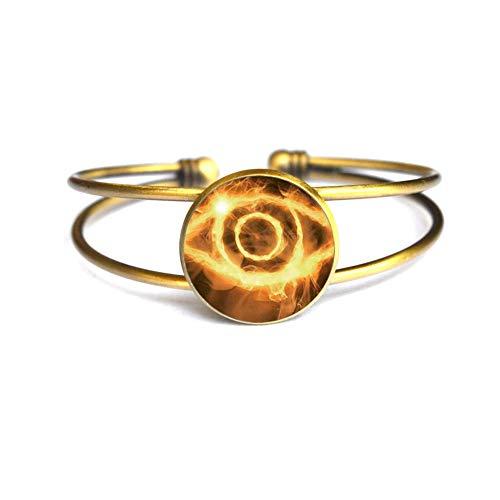 Moda caliente modelos extraño ojo pulsera de cristal brazaleta,accesorios de ropa brazalete Jewelry.Doctor brazo,TAP287