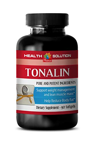 Belly Fat Burner Pills Best Seller - TONALIN 1250MG - Pure and Potential Ingredients - cla core Fat Burner - 1 Bottle (90 Softgels)