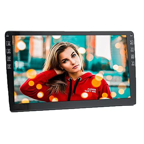 YOLRH 2 DIN Android Car Radio con navegación GPS Pantalla táctil capacitiva de 7 Pulgadas Receptor de Radio FM Soporte Mirror Link para teléfonos iOS/Android Conexión WiFi