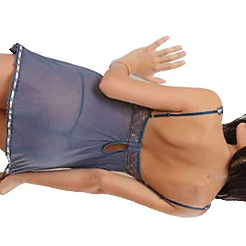 YJLYQ Set De Lencería Mujeres, Lencería Sexy Lenceria Erótica Mujer Sexy Abierta Muy Adecuado para La Noche De Bodas, Luna De Miel, Aniversario (Size : X-Small)