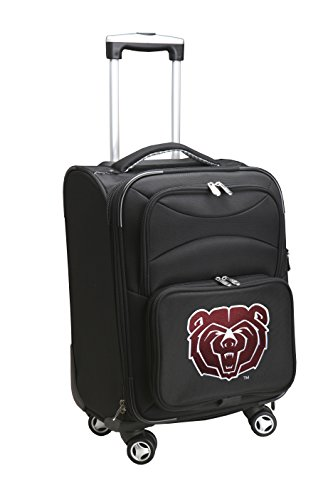 Save %70 Now! Denco NCAA Southwest Missouri State Bears Domestic Carry-On Spinner, 20-Inch, Black
