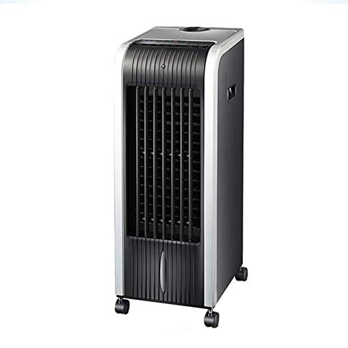 Silent thuis elektrische ventilator Airco ventilator verwarming en koeling gemengd gebruik afstandsbediening muggen mobiele koelventilator kleine airconditioning luchtkoeler Floor fan