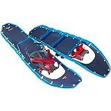 MSR Lightning Ascent Backcountry & Mountaineering Raquetas de nieve con fijaciones de Paragón, par de 30 pulgadas, azul cobalto
