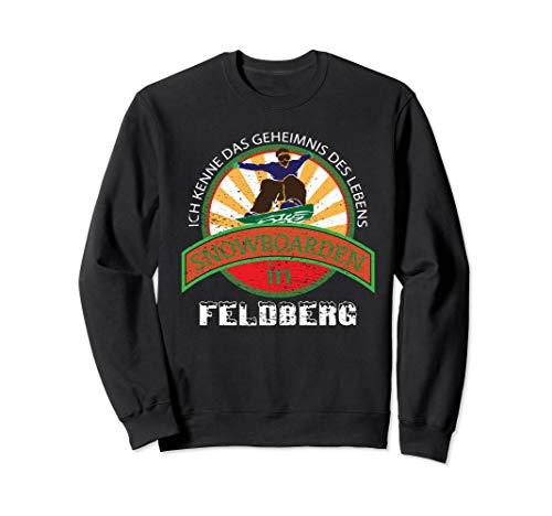 SNOWBOARDING Geschenk Für Snowboarder Aus Feldberg Sweatshirt