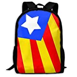 Estelada Disseny - Special Laptop Bag,Mochila Estudiantes,Bolsa para La Escuela,Mochila De Viaje,Bolso De Hombro Al Aire Libre,Bolsa De Viaje