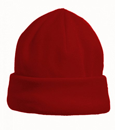 etirel Kinder Fleece Mütze New Zenis rot