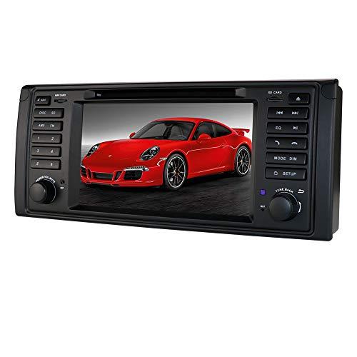 Android 10 Auto GPS Navigation Bluetooth 1 Din Fahrzeug Stereo mit 7 Zoll Touchscreen für BMW 5-E39 / X5-E53 / M5 / 7-E38 Unterstützung Mirror-Link Radio WiFi / 4G SWC DVR OBD2 DAB +