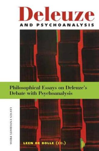 Deleuze and Psychoanalysis: philosophical Essays on Deleuze's Debate with Psychoanalysis