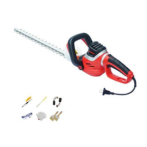 BGSFF 750/850W Heckenschneider Bürstenschneider Grasschneider, 90 & deg;Drehgriff, Sicherheitsdoppelschalter, SK5 Blade/750W/Rasenmäher