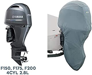 Oceansouth Custom Fit Full Outboard Storage Cover for Yamaha 4CYL 2.8L 175-200HP 25