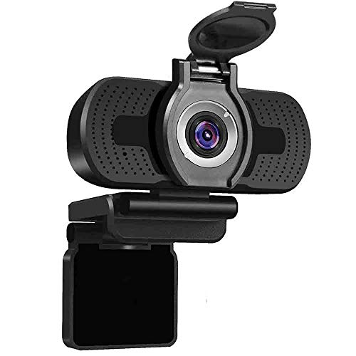 USB webcam 1080p with cover, webcam for pc,desktop,laptop, streaming webcam built-in Mic, Plug and Play Video Calling Computer Camera,Computer Camera fo Gaming and Conferencing