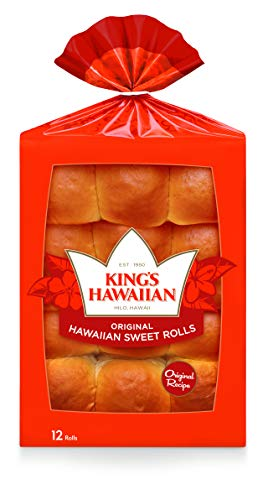 King's Hawaiian Original Hawaiian Sweet Rolls - 12 Count