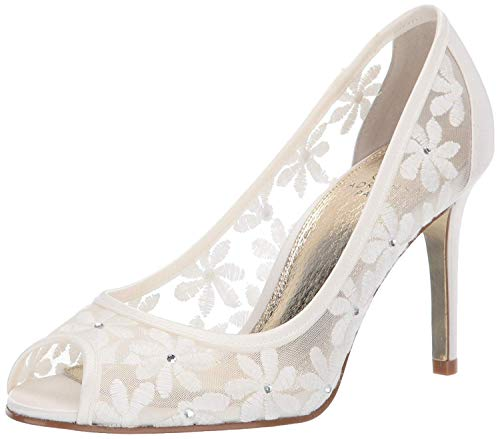 Adrianna Papell Women's Frances Pump, Ivory, 8.5 M US