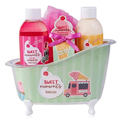 accentra Coffret de bain Sweet Moments pour femmes et filles...