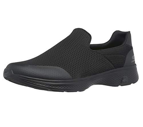 Skechers Performance Mens Go Walk 4 Incredible Walking Shoe, Black, 7.5 M US