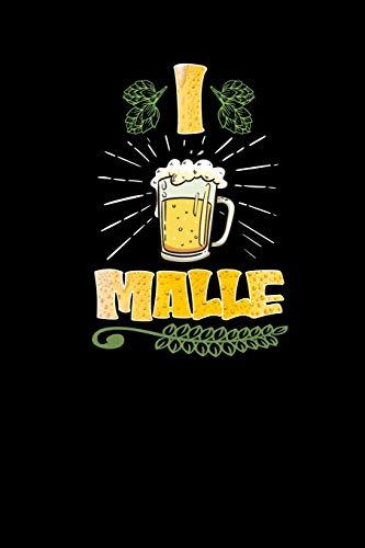 Malle: Notizbuch a5 - Ich Bier Mallorca Lustige Sprüche Party Terminkalender Partyplaner
