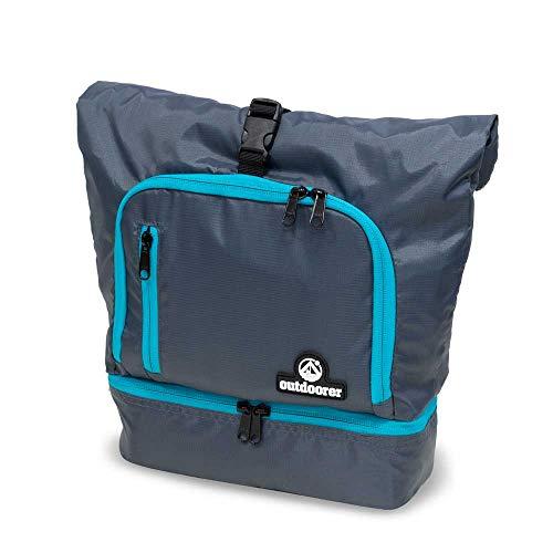 outdoorer Wash Butler L, große Kulturtasche mit Roll-Top Verschluss