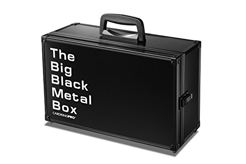 The Big Black Metal Box (BBB Edition) | Case is Compatible with Magic The Gathering, MTG, All Standard Card Games (Game Not Included) | Includes 8 Dividers | Fits up to 2500 Loose Unsleeved Cards image