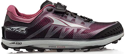 ALTRA Women's ALW1952G King MT 2 Trail Running Shoe, Black/Rose - 9 M US