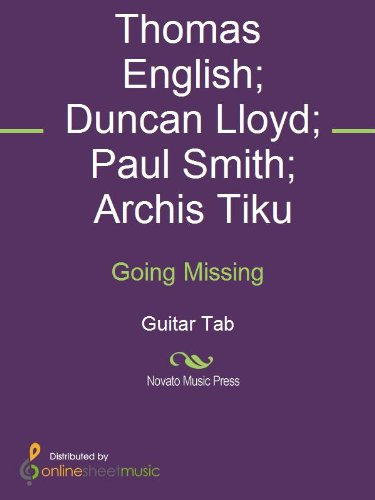 Going Missing (English Edition)