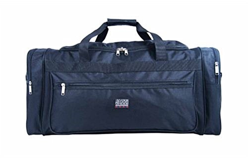 Grande borsone da viaggio, con tasche e tracolla: 66 cm x 31 cm x 31 cm