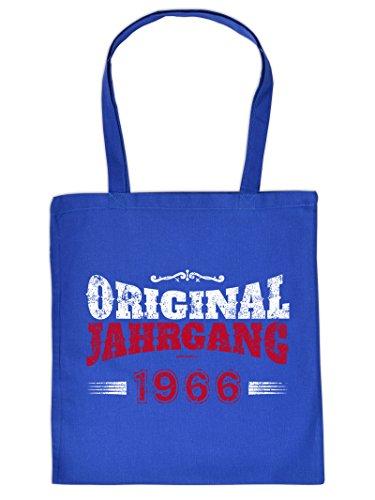 Stofftasche, Einkaufstasche zum 50. Geburtstag - Original Jahrgang 1966 - Tragetasche, Stoffbeutel, Geschenk