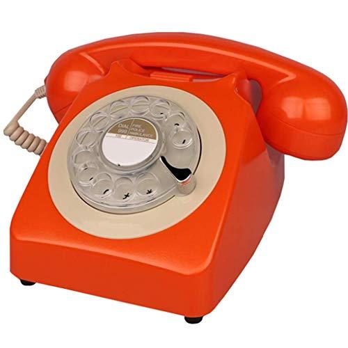 DGHJK Teléfono con Cable, teléfono Retro, teléfono Giratorio clásico clásico, teléfono Giratorio...