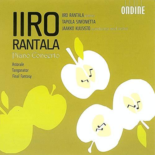 ランタラ:ピアノ協奏曲 嬰ト長調/変イ長調/アストラーレ/タンゴネイター/ファイナル・ファンタジー