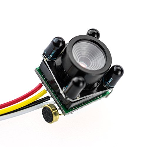Mini Spionagecamera 205-IR-L 5 miljoen pixels Bullet Camera Pinhole gatcamera, verborgen camera, Spy Cam zeer fel nachtzicht video en foto van Kobert-Goods