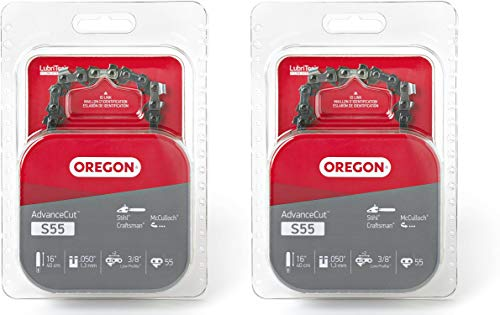 Oregon S55 AdvanceCut 16-Inch Chainsaw Chain Fits McCulloch, Stihl - Cases 2