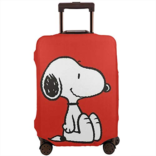 Travel Luggage Cover Snoopy Luggage Protector Suitcase Cover Fits 18-32 Inch Luggage