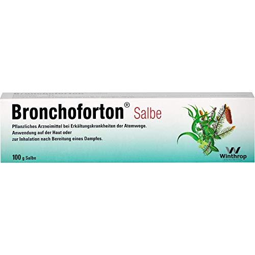 Bronchoforton Salbe bei Erkältungskrankheiten, 100 g Salbe