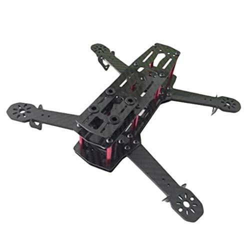 L'Arc-en-Ciel ZMR250 V2 Carbon Fiber Frame Kit RC Drone FPV Racing 4.0mm Armstärke Support 1806 2204 2206 Power