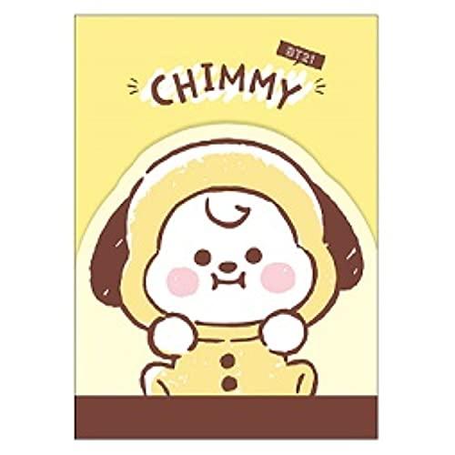 カミオジャパン BT21 ダイカットミニメモ CHIMMY LINE FRIENDS [017566]