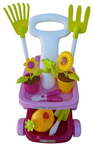 Seruna A185 18 pcs. De Jeu Toy de Soins de Jardin pour Les Petits jardiniers, Peuvent Donc être Jardinage Fun
