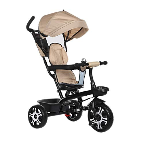 Why Should You Buy NBgy Tricycle with Versatile 4-in-1 Tricycle Awning Design with Brakes, Baby Outd...