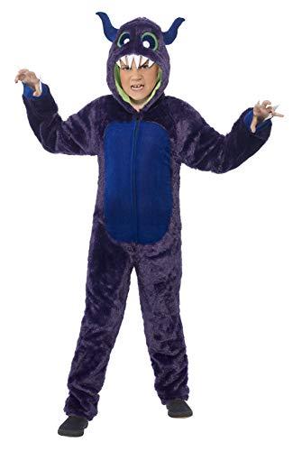 Smiffys - Disfraz de Monstruo, Color púrpura (44060L)
