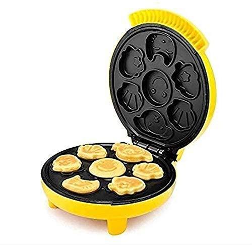 Neem afscheid van paniek/ordelijk ontbijt Automatische temperatuurregeling Volledig automatische Mini Kinderen 's Ontbijt Cartoon Scones Gebakken Ontbijt Brood Eieren Sandwich Machine Tijdbesparend en handig