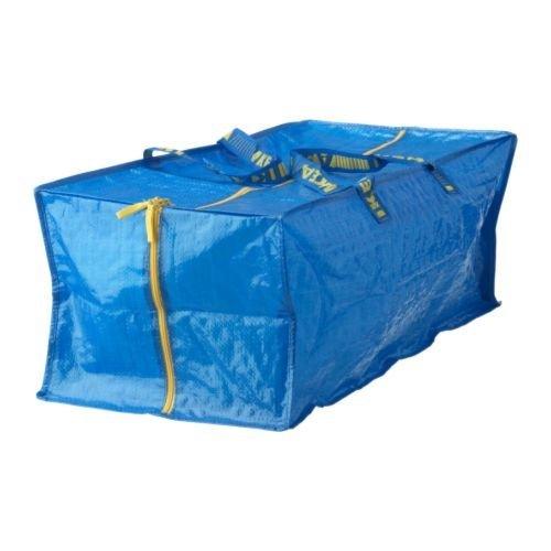 Ikea 990067 Bolsa para Carro, Azul, 35x28x3 cm