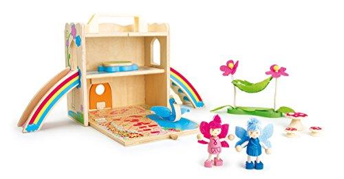 Small Foot 9540 Puppenhaus Ferienhaus im Koffer