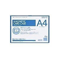 マグネットカードケース A4 内寸法213×302mm 青 品番:マク-614B 注文番号:51151591 メーカー:コクヨ
