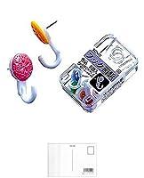 (まとめ買い)ソニック フック画鋲 色込5個入 AZ-856 【×5】 + 画材屋ドットコム ポストカードA