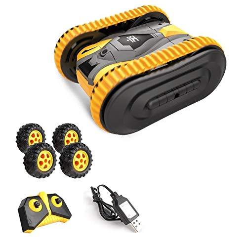 Diseño simple Control Remoto Juguetes, 2.4G de cadenas Mini Stunt deriva en ambos lados fuera de la carretera de coches de juguete, controlado de radio del coche-360 giratoria rueda del coche de los j
