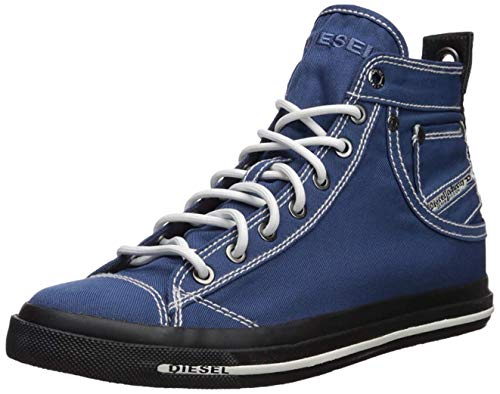 Diesel Men's Magnete Exposure I Sneaker, Peacoat Blue, 10 M US
