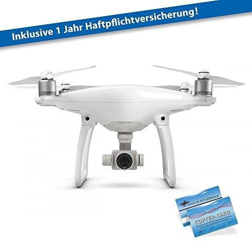 DJI Phantom 4 Basic inkl. Haftpflicht Quadrocopter 4K Kamera Anti-Kollisions-System y